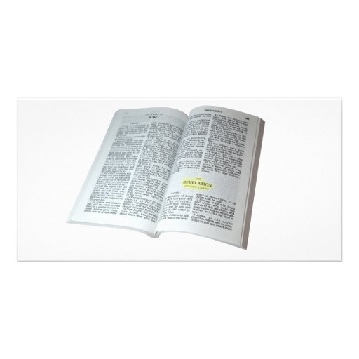 Revelation of Jesus Christ Custom Photo Card