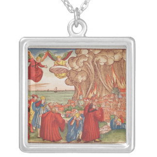Revelation Silver Plated Necklace