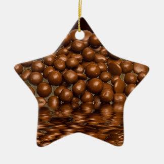 Revels chocolate sweets ceramic star decoration