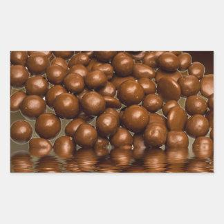 Revels chocolate sweets rectangular sticker