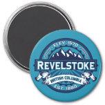 Revelstoke City Logo Fridge Magnet