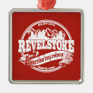Revelstoke Old Circle Red Christmas Ornament