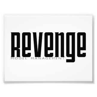 Revenge Model Management Photographic Print