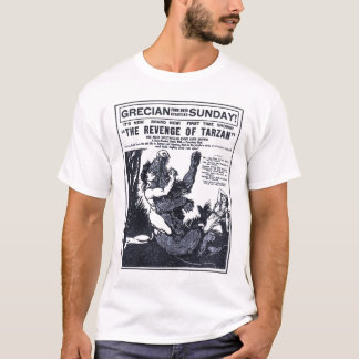 'Revenge Of Tarzan' 1920 vintage movie ad T-shirt