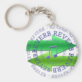 Reverb Gear Basic Round Button Key Ring