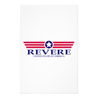 Revere Pride Personalized Stationery