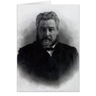 Reverend Charles Haddon Spurgeon Greeting Card
