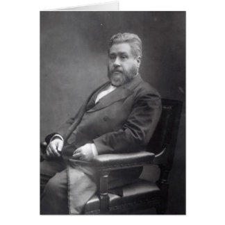 Reverend Charles Haddon Spurgeon Card