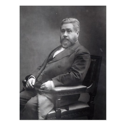 Reverend Charles Haddon Spurgeon Postcard