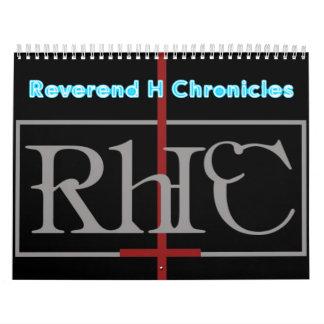 Reverend H Chronicles Calendar