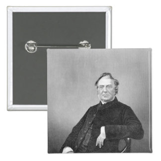 Reverend Hugh Stowell, engraved by D. J. Pound 15 Cm Square Badge
