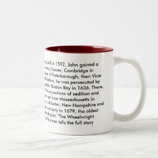 Reverend John Wheelwright mug