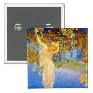 Reveries - by Maxwell Parrish 15 Cm Square Badge