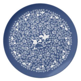 Reverse China Plate