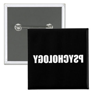Reverse Psychology 15 Cm Square Badge