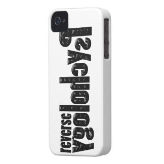 Reverse Psychology iPhone 4 Cover