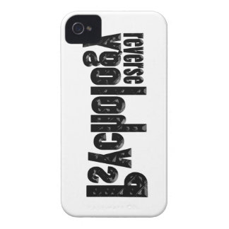 Reverse Psychology iPhone 4 Covers
