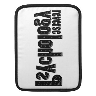 Reverse Psychology Sleeve For iPads
