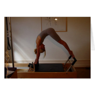 Reverse Up Stretch on Reformer Card
