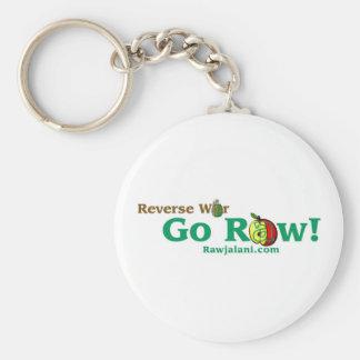 reverse War Go Raw key chain
