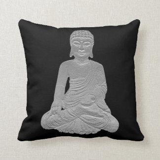 Reversible Buddha Throw Pillow