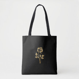 Reversible 'Eternally Beautiful' Golden Rose Bag