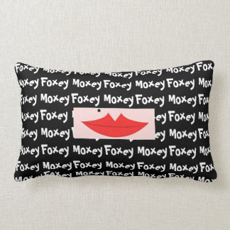 Reversible Funky Foxey Moxey Pillow