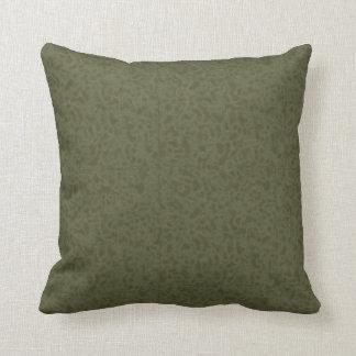 Reversible Pillow Green/Tan