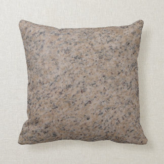 Reversible solid back Pink n Gray Textured Pillow