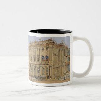 Review at the Winter Palace Two-Tone Mug