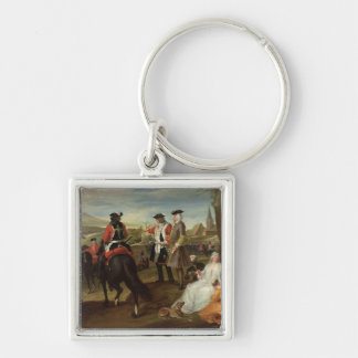 Review of the Black Musketeers Silver-Colored Square Key Ring