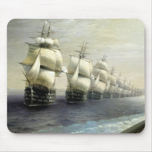Review of the Black Sea Fleet Mousepad