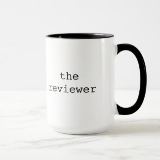 Reviewer cool gift mug