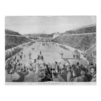 Revival of the Olympic Games in Athens Postcard