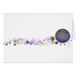 Revive Your Senses Greeting Cards