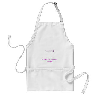 REVIVED COPY! SHEILA, God is just a prayer away! Standard Apron