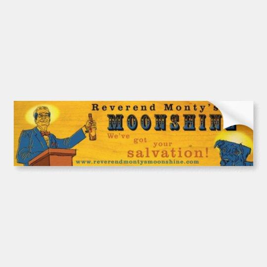 RevMontyBannerMTsmallwood Bumper Sticker
