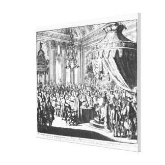 Revocation of the Edict of Nantes Canvas Print