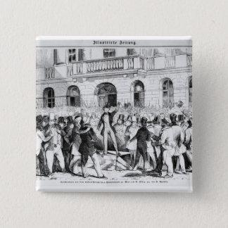 Revolt in Vienna 15 Cm Square Badge