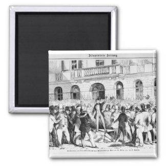 Revolt in Vienna Magnet