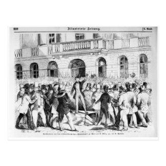 Revolt in Vienna Postcard