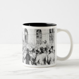 Revolt in Vienna Two-Tone Coffee Mug