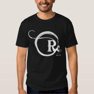 revolt white logo shirts