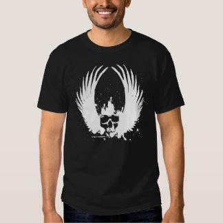 Revolt WingSkull27 Tee Shirts