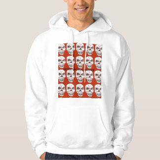 Revolting for Change Skull Hoodie Sweatshirt