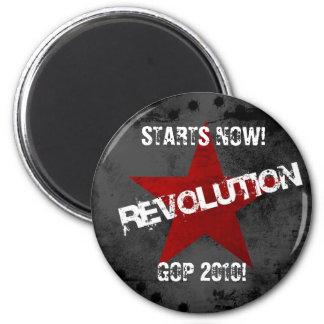 Revolution1024x768, STARTS NOW! , GOP 2010! Fridge Magnets