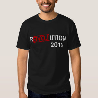 Revolution 2012 (Ron Paul) Tees