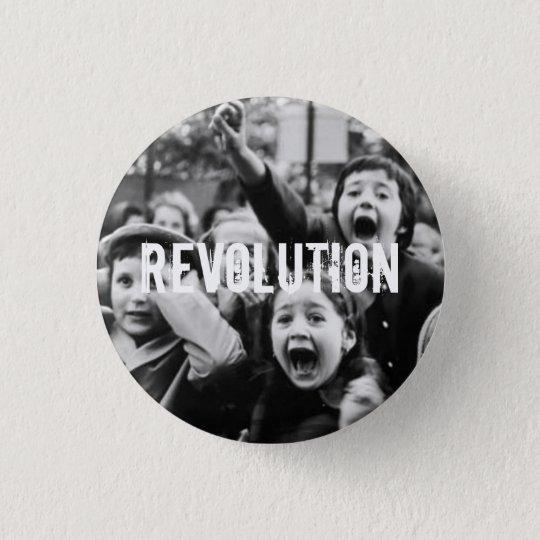 Revolution! 3 Cm Round Badge