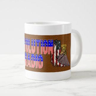 Revolution angles large coffee mug