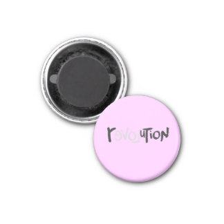 Revolution - Anti Social 3 Cm Round Magnet